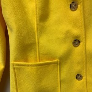Jackets & Coats - Women's Yellow Coat/Jacket brand new with tag